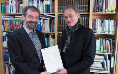 Dr. Bernd Diehl received the title of a honorary professor