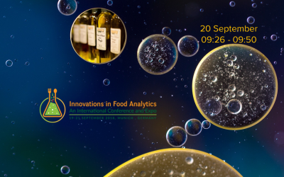 "Meet Spectral Service at ""Innovations in Food Analytics"""