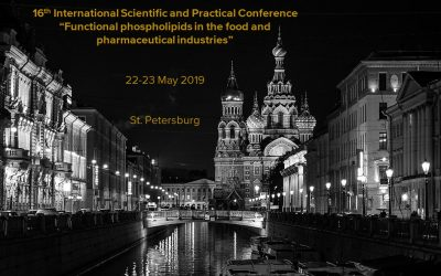 "16th International Scientific and Practical Conference ""Functional phospholipids in the food and pharmaceutical industries"""