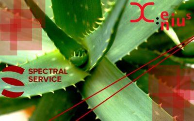 ARTE @ Spectral Service – Aloe Vera, a medicinal plant?