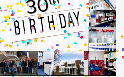 Spectral Service AG is celebrating its 30th anniversary