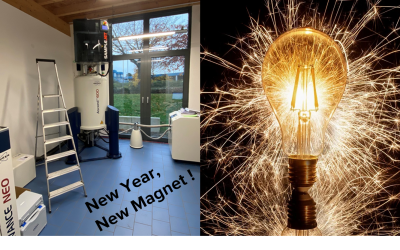 New Year, new Magnet! – Introducing the NMR Avance Neo instrument