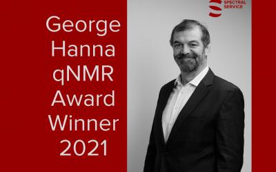 Bernd Diehl – first George Hanna qNMR Award Winner